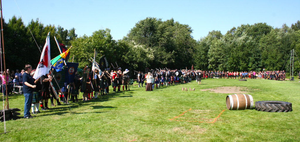 Highland Games 2015 in Wuppertal