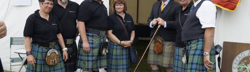 German Members of the Clan MacLaren Society with Clan Chief Donald MacLaren of MacLaren