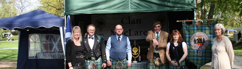Clan MacLaren - Highland Gathering Peine 2013